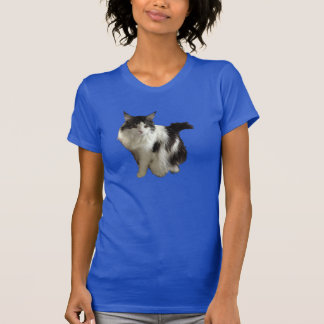 Regal Maine Coon black and white female T-Shirt