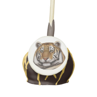 Regal Male Bengal Tiger Cake Pops