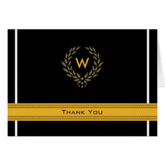 Regal Photo (inside) Graduation Thank-You Card: 01 Stationery Note Card