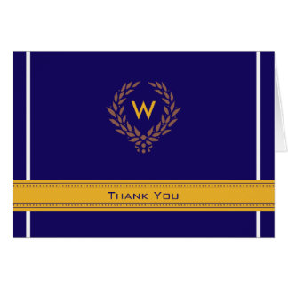 Regal Photo (inside) Graduation Thank-You Card: 02 Stationery Note Card