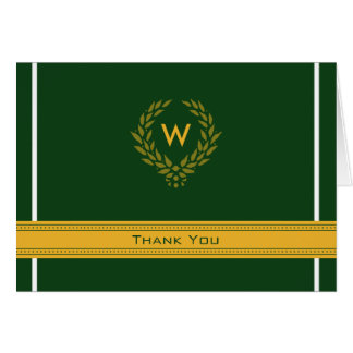 Regal Photo (inside) Graduation Thank-You Card: 03 Stationery Note Card