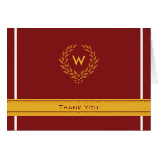 Regal Photo (inside) Graduation Thank-You Card: 04 Stationery Note Card