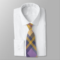 Regal Plaid Necktie