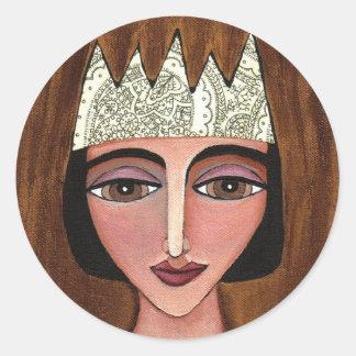 REGAL QUEEN - royal stickers
