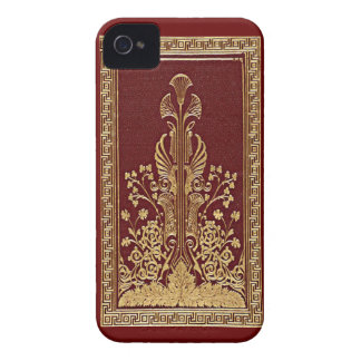 Regal Red Gold Leaf Art Case-Mate Blackberry Bold  iPhone 4 Covers