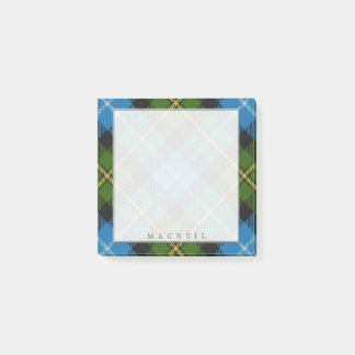 Regal Scottish Clan MacNeil Tartan Post-it Notes
