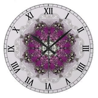 Regal Shades Kaleidoscope Clock