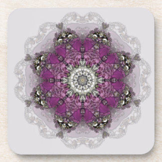 Regal Shades Kaleidoscope Coasters