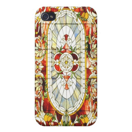 Regal Splendor Stained Glass iPhone 4 Case Hot
