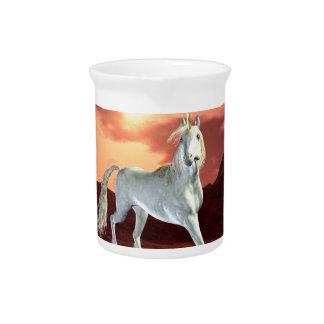 Regal Unicorn Pitcher