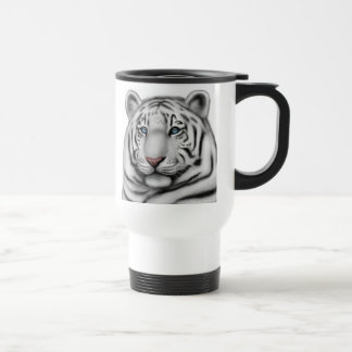 Regal White Tiger Travel Mug
