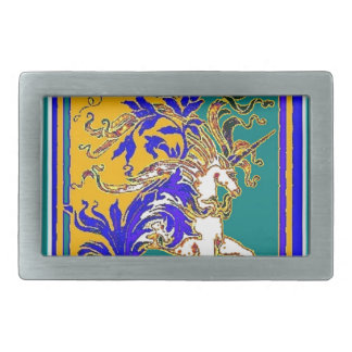 Regal White Unicorn Gifts by Sharles Belt Buckles
