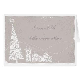 Regali de Albero di Natale e Tarjeta De Felicitación