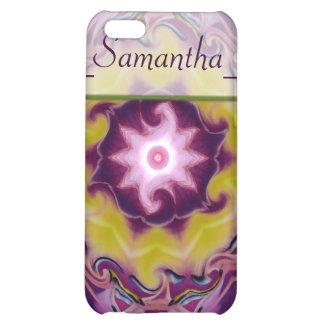 regalía de la púrpura del del caso del iPhone 4