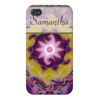 regalía de la púrpura del del caso del iPhone 4 iPhone 4/4S Carcasa