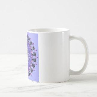 Regalia Purple and Pink Kaleidoscope Coffee Mug