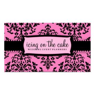 Regaliz rosado de la guinda del pastel 311 tarjeta de visita