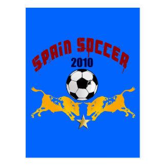 Regalo 2010 de Furia Bull Toro del La del fútbol d Postal