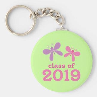 Regalo 2019 de la graduación de los chicas llavero