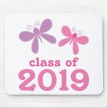 Regalo 2019 de la graduación de los chicas alfombrilla de raton