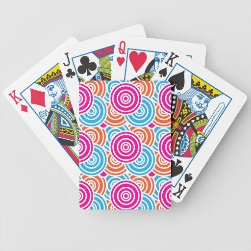 Regalo acodado diversión brillante del modelo de l barajas de cartas