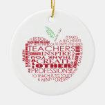 Regalo adorable para los profesores ornatos