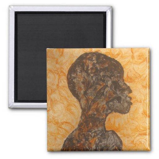 Regalo africano del arte de Magnet_African del sue Imán Para Frigorifico