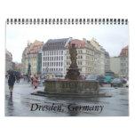 Regalo alemán del calendario de Dresden Alemania 2