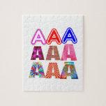 REGALO alguien un grado del Aaa: Reconozca el LOGR Puzzle