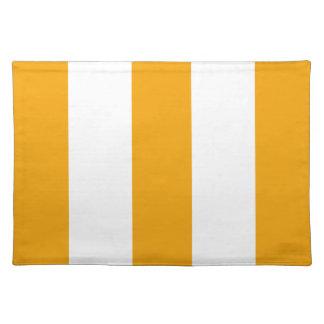 Regalo amarillo y blanco de la maravilla 2013 de l manteles individuales