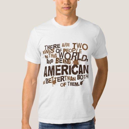 Regalo americano playeras