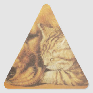 Regalo amistoso lindo Relatio de Hakuna Matata del Pegatina Triangular