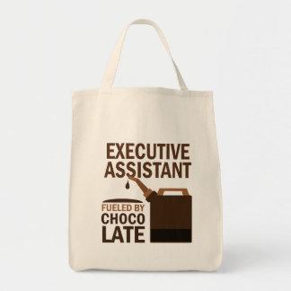 Regalo auxiliar ejecutivo (divertido) bolsa tela para la compra