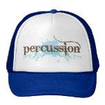 Regalo azul de la música de la percusión de la gorros