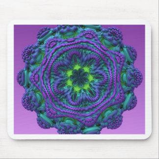 Regalo azul fungoso extranjero de la decoración de