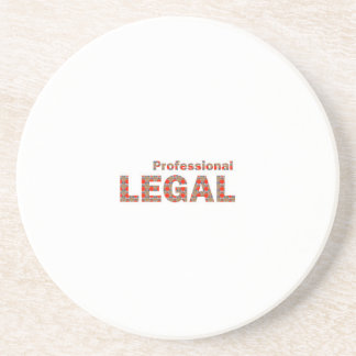 Regalo BARATO de la libertad de la corte de ley de Posavasos Manualidades