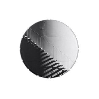 Regalo blanco y negro del diseño del efecto de las latas de dulces