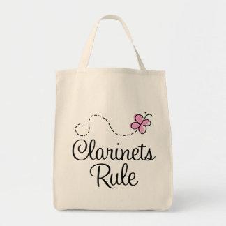 Regalo bonito de la música de la regla de los bolsa tela para la compra