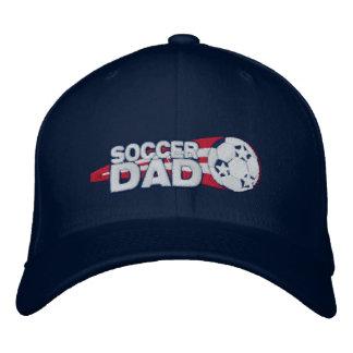 Regalo bordado papá del casquillo del fútbol gorros bordados