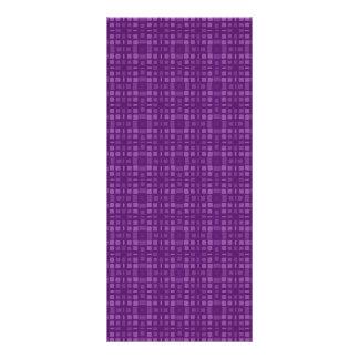 Regalo casero de Zazzle del diseño cuadrado púrpur Tarjeta Publicitaria Personalizada