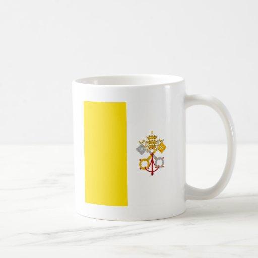 Regalo católico de Roma de la bandera de la Ciudad Taza