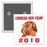 Regalo chino 2010 del Año Nuevo Pin