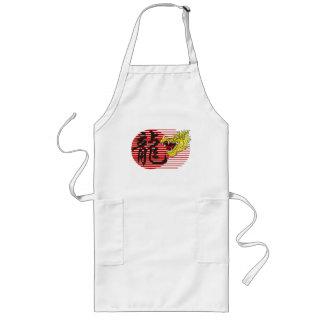 Regalo chino de las camisetas del zodiaco del drag delantal largo
