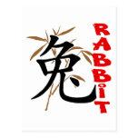 Regalo chino del símbolo del conejo