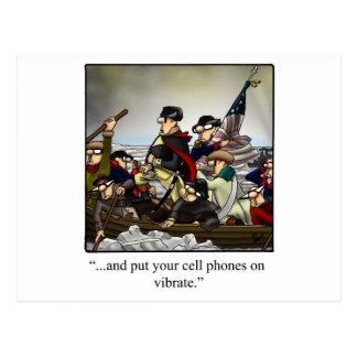 ¡Regalo chistoso patriótico del dibujo animado Tarjeta Postal