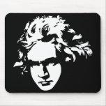 Regalo clásico del ordenador de Beethoven del Alfombrilla De Ratones
