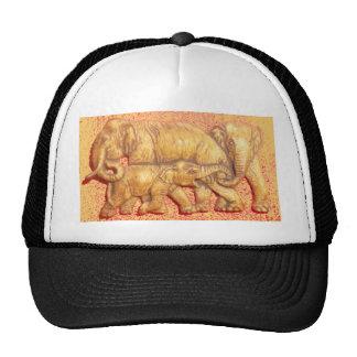 Regalo colorido de la familia del elefante de Haku Gorro De Camionero