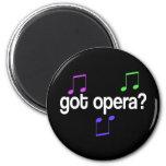 Regalo conseguido de la música de la ópera iman para frigorífico