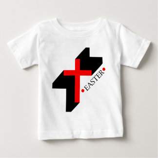 Regalo cristiano de Pascua con la cruz Playeras