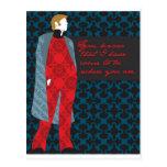 """Regalo """"cuenta Vronsky """" de la cita de Ana Karenin Tarjeta Postal"""